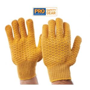 Criss Cross PVC Latice Grip Glove