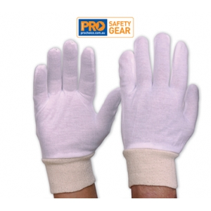 Interlock Poly / Cotton Liner with Knitted Wrist Glove - Mens