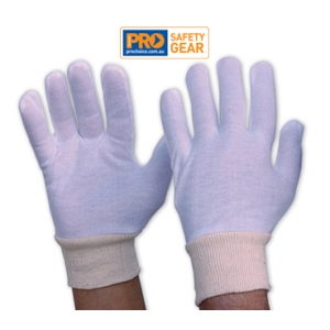Interlock Poly / Cotton Liner with Knitted Wrist Glove - Ladies