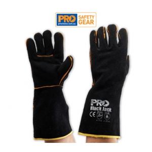 Black Jack - Black & Gold Glove