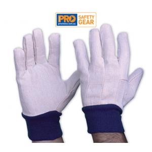 Cotton Drill Glove - Mens