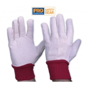 Cotton Drill Glove - Ladies