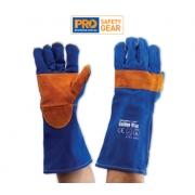 Blue Heeler - Blue & Gold Kevlar Glove