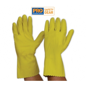 Yellow Silver Lined Glove