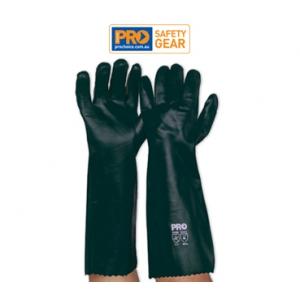 Green PVC Glove - Long