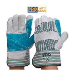 Green & Grey Strioe Glove