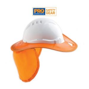 Hard Hat Plastic Brim
