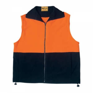 Hi Vis Pollar Fleece Vest