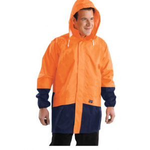 Wet Weather Jacket Hi Vis