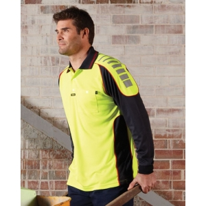 Chief Microfibre Polo Long Sleeve