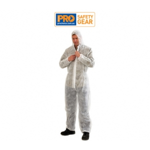 Disposable Coveralls - White