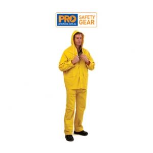 Yellow PVC Rain Pants