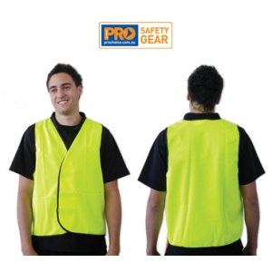Fluro Yellow Safety Vest - Day Use