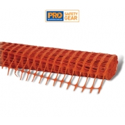 Orange Barrier Mesh Fencing