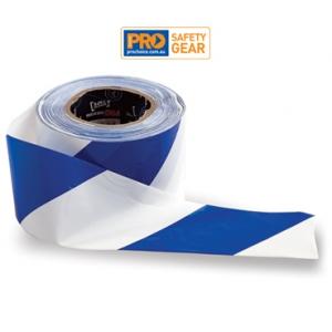 Barricade Tape - Blue/White
