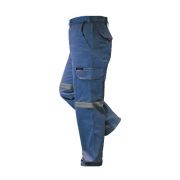 Prime Mover Cotton Drill Cargo Pants