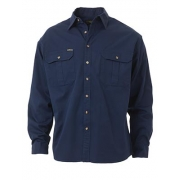 Bisley Workwear Original Cotton Drill Shirt Long Sleeve