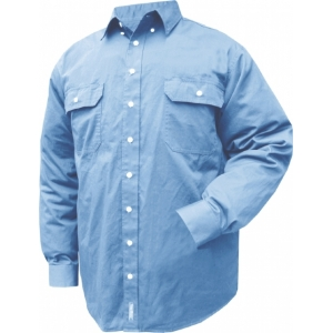Prime Mover Chambray Long Sleeve Shirt
